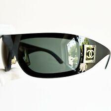 occhiali da sole CHANEL 5085 Oversize oval wrap sunglasses vintage mask rare