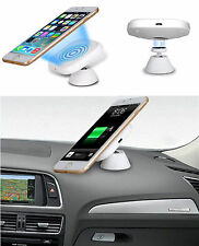 Qi Car Wireless Charging Pad Magnetic Stand For Samsung S6 Edge iPhone 6 Hot