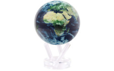MOVA Rotating Earth View Satellite with cloud Spinning Revolving Globe