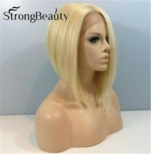 Blonde Bob Lace Front Wigs Medium Straight Fashion Wigs Women Ladies Wigs