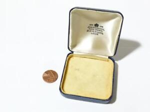 Vintage Jewellery Display Box Brooch Ring John Dyson & Sons Leeds EMPTY #JD1