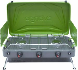 Vango Combi IR Grill Compact - 2 Burner Camp Stove with Infrared Grill