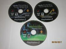Playstation 2 - PS2 - Lot Of 2 Syphon Filter Games w/ Demo Game - Disc Only