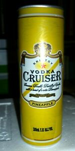Collectable vodka cans:  Kristov Vodka Cruiser Pineapple 300ml can