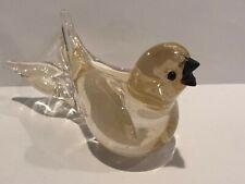 Formia Vetri Di Murano Bird Made In Italy Collactable Item Brand New RARE