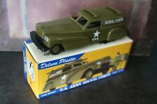 jouet Dimestore Dreams 1/43 VOITURE AMERICAINE US ARMY MILITARY SIGNAL CORPS