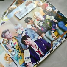 BTS 12 Poster Bangtan boys Love yourself Bromide 5th Album Concert Photo Sticker