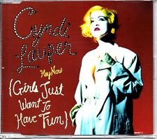 CYNDI LAUPER - HEY NOW [GIRLS JUST WANT TO HAVE FUN] - 5 TRACK REMIXES CD SINGLE