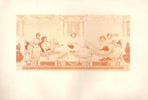 1899 VICTORIAN STUDIO PRINT ~ SUMMER By W. REYNOLDS-STEPHENS