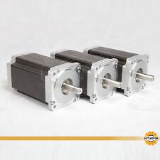 ACT Motor GmbH 3PCS Nema34 Schrittmotor 34HS5460 6.0A 151mm 1200N.cm 3D Drucker