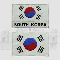 South Korea National Iron On Embroidered Patch Sew On Patch Badge For Clothes