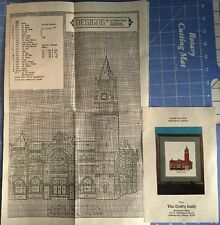 Union Station Indianapolis IN Counted Cross Stitch Pattern By Liz Turner Diehl