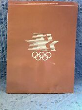 NOS 1984 LA OLYMPICS' LOS ANGELES OLYMPIC ORGANIZING COMMITTEE COCA-COLA SOCCER