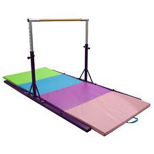 Training Bar Junior Gymnastics Bar Folding Mat Horizontal Adjustable Sports