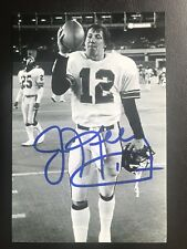Jim Kelly Signed Auto 4x6 Buffalo Bills  Photograph