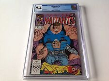 NEW MUTANTS 88 CGC 9.4 WHITE PGS 2ND APPEARANCE CABLE X-FACTOR MARVEL COMICS
