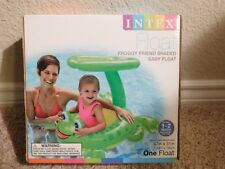 Brand new in the box Intex Froggy Friend Shaped Baby Pool Float