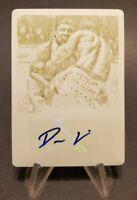 2011 UFC Moment of Truth Autographs Printing Plates Yellow #CSDMI Dan Miller 1/1