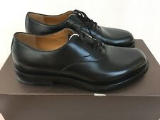 Gucci Leather Lace-Up Oxford Shoes - Black - UK 6/IT 40 - RRP £550