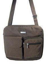 Baggallini Canyon Bagg Crossbody Bag Purse Travel Organizer Brown New NWT