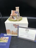 Lilliput Lane Figurine Miniature Wedding Bells Deed W/box