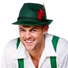 Birra Bavarese Guy Cappello & Feather Oktoberfest Da Uomo Costume Adulto Costume Cappello