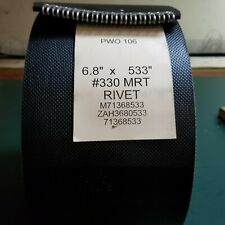 68 X 533 Vermeer Round Baler Belts 3 Ply Hd Mini Roughtop With Alligator Lacing