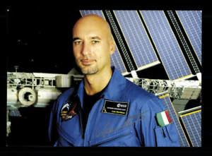 Luca Parmitano Astronaut Weltraumfahrt Original Signiert # BC 176006