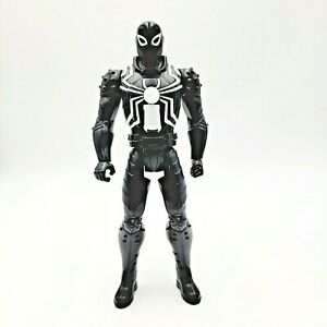 Ultimate Spider-Man Talking Web Warriors Titan Hero Agent Venom WORKS READ