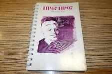 Anleitung / Buch zu HP67 HP97 Taschenrechner (12) Hewlett Packard Programmierung