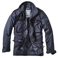 Brandit M65 Standard Feldjacke Navy dunkelblau Parka US Style Jacke mit Futter