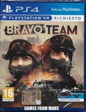 BRAVO TEAM - Richiesto Playstation VR - PS4 NUOVO ITALIANO
