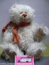 Schildkröt Teddy Struppelchen ca.32 cm mit rostbraunem Wollschal limitiert