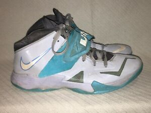 Men's Size 12 Nike Lebron Zoom Soldier 7 VII 2013 Light Armory Blue 599264-402
