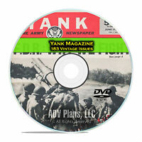 Yank Magazine, 183 Issues, 1942 - 1945, American GI War Soldier Magazine DVD D30