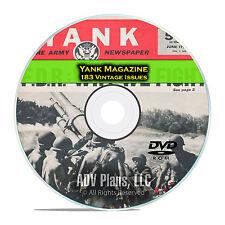 Yank Magazine, 183 Issues, 1942 - 1945, American GI War Soldier Magazine DVD D30