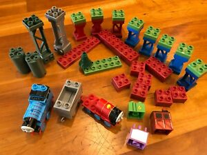 Mega Bloks Thomas Train replacement parts and risers