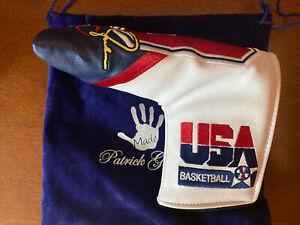 Michael Jordan Olympic Putter Head Cover USA Dream Team Patrick Gibbons NEW
