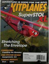 Kitplanes January 2016 Super Stol XL Stretching The Envelope FREE SHIPPING sb