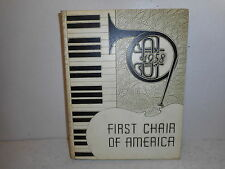 1958 Lockport High School Band Yearbook - First Chair of America -Lockport, Ill.