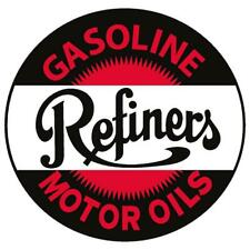 Vintage Style Metal Sign Refiners Motor Oil 14 x 14