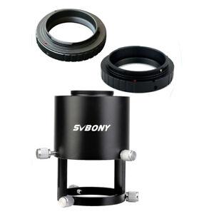 SVBONY SV123 Spotting Scope Camera  Adapter+Nikon/Canon Adapter DSLR&SLR Ring