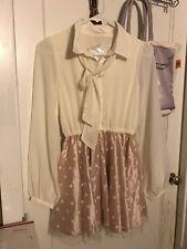 New Authentic Liz Lisa   Dress  Pink Lolita Japan Harajuku +gift