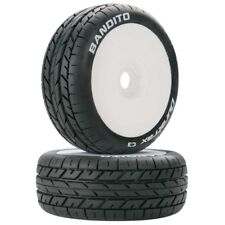 Duratrax DTXC3639 Bandito 1/8 Buggy Tires C3 Mounted White (2)