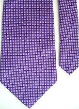 "American Traditions Men's Silk Novelty Neck Tie Purple 4"" x 58"""
