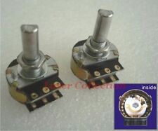 * 2 pcs * of 100K *D shape shaft* DACT Type 21 Stepped Attenuator Potentiometer