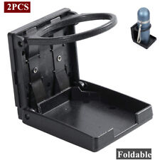 2pcs Universal Cup Drink Holder Plastic storage CAR TRUCK BOAT VAN Folding