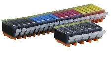 25 NEW Pack Ink Set for  PGI-220 CLI-221 Canon MP540 iP3600 MP630 MX860