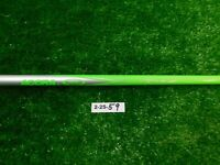 """Callaway Accra TOUR Z M5-55 X Extra Stiff Lime Green Driver Shaft 44.25"""" MINT"""