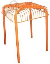 VÄSTERÖN, Hocker, orange, Außenbereich, Badezimmer, IKEA, 44x36x36cm, NEU